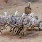 Roman in chariot white horses by dozemode from Pixabay