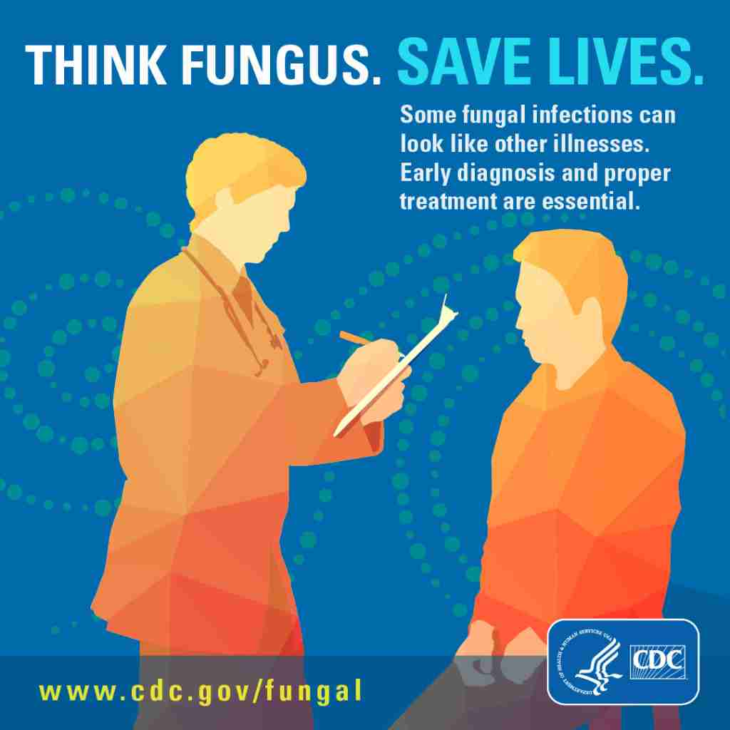 think fungus infographic from cdc